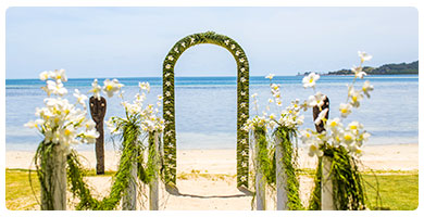 Lomani Island Resort - Wedding Packages